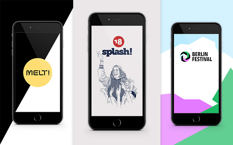 Melt! Festival | Splash! Festival | Festival App preview